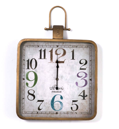 reloj vintage decoracion